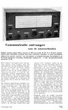 Copy of Radio Bulletin Nov. 1962 (Dutch)