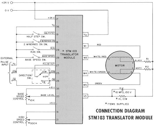 stm103connection the first slo syn translators history of superior electric www slo syn stepper motor wiring diagram at crackthecode.co