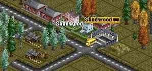 Slindwood with bus station