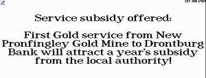 Gold Service Subsidy offer