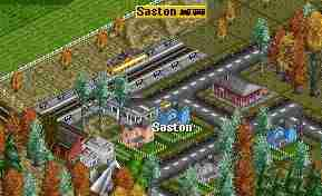Saston railroad station